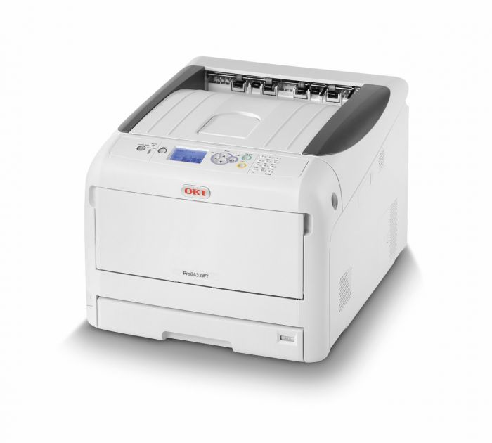 OKI Pro8432WT White Toner Laser Color Printer